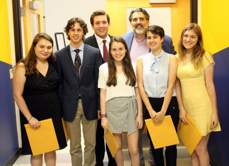 PMHS 2019 scholarship recipients